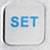 Кнопка настройки пульта