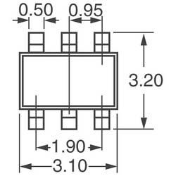 Размеры корпуса SOT23-6
